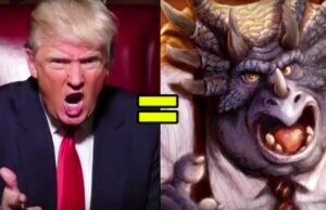 "Donald Trump is an angry triceratops from '90s sitcom ""Dinosaurs"""