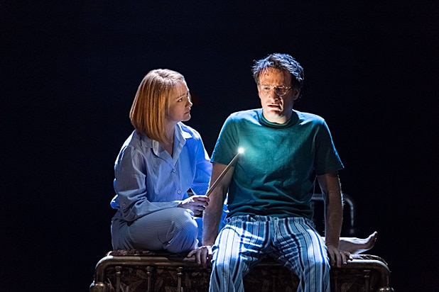 Poppy Miller and Jamie Parker Harry Potter and the Cursed Child