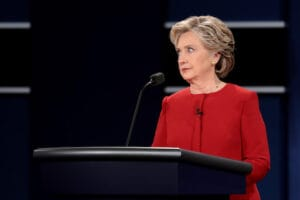Hillary Clinton First Presidential Debate Hofstra University 2016 wikileaks
