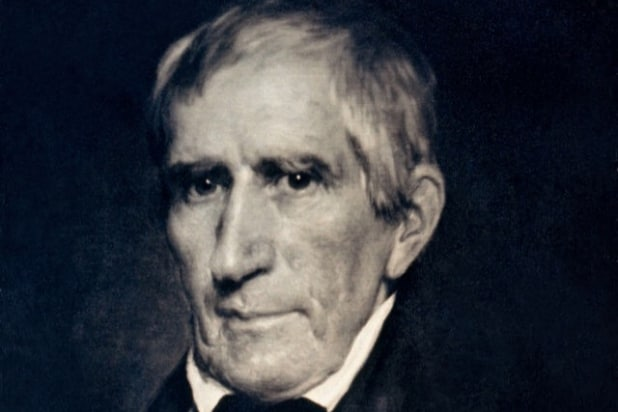 William Henry Harrison love child Clinton's son