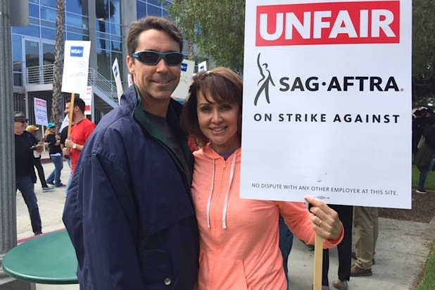 SAG AFTRA video game actors strike Electronic Arts