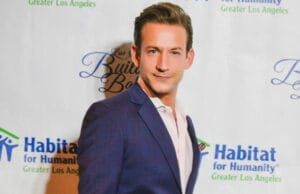 James Harris of Million Dollar Listing Los Angeles attends a Habitat for Humanity event