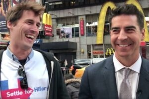 """Undecided"" star pranks Jesse Watters"