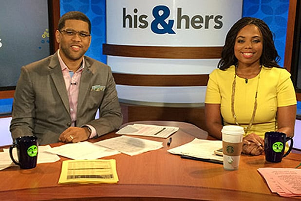 Jemele Hill and Michael Smith ESPN