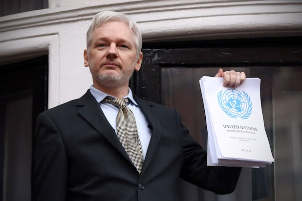 Wikileaks Julian Assange Ecuadorian embassy 2016