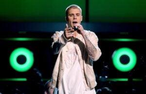 Justin Bieber realizes fans don't care to hear him speak