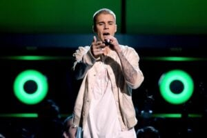 Justin Bieber realizes fans don't care to hear him speak