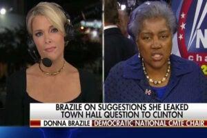 Megyn Kelly Donna Brazile WikiLeaks persecution