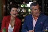Lucy Lawless Bruce Campbell Wrapid Fire Ash vs Evil Dead