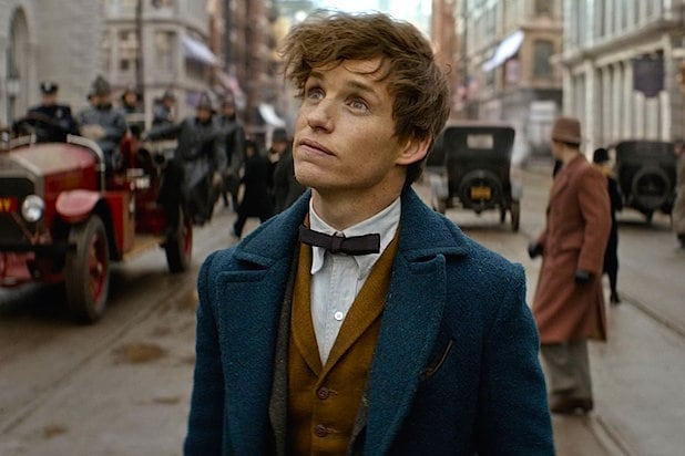 Eddie Redmayne in Fantastic Beasts and Where to Find Them 2016