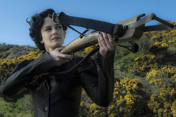 Miss Peregrine's Home for Peculiar Children tim burton eva green