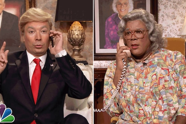 boo a madea halloween box office tyler perry tonight show jimmy fallon