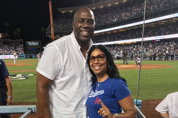 Magic Johnson Dodgers