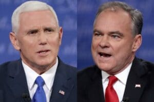 mike pence tim kaine vice presidential debate