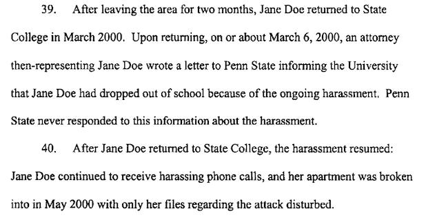 nat parker rape case penn state complaint