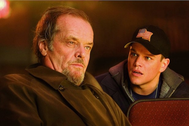 The Departed 10th Anniversary Leonardo DiCaprio Jack Nicholson Mark Wahlberg Martin Scorsese Matt Damon