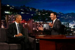 Obama on Jimmy Kimmel Mean Tweets