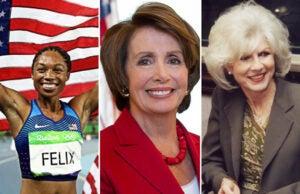 Nancy Pelosi Allyson Felix Diane Rehm TheWrap Power Women Breakfast