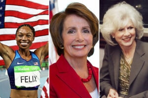 Nancy Pelosi Allyson Felix Diane Rehm TheWrap Power Women Breakfast