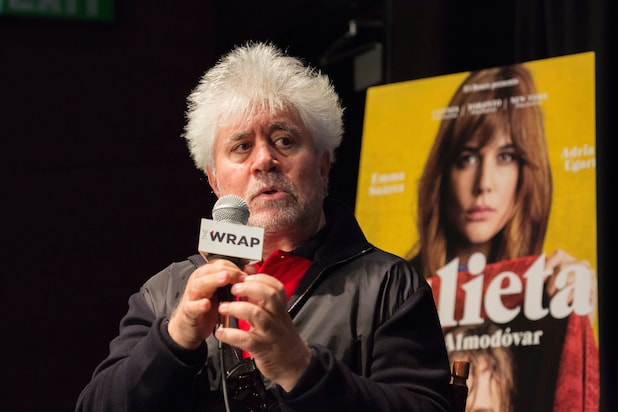 Pedro Almodovar at the Landmark Theatre TheWrap Julieta Meryl Streep