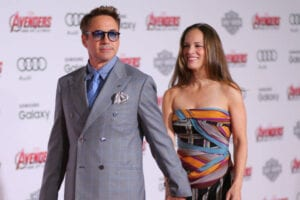Robert Downey Jr Susan Downey Team Downey