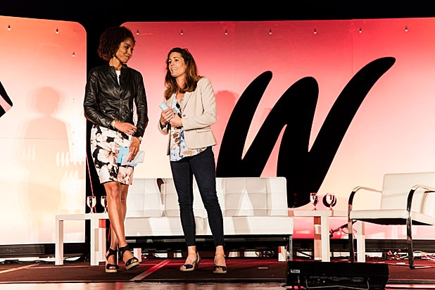 Robin Roberts Sage Steele And A Stage Full Of Olympians Inspire