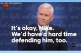 New Hillary Clinton Campaign Ad Is a Mashup of All the Things Mike Pence Claimed Trump Never Said