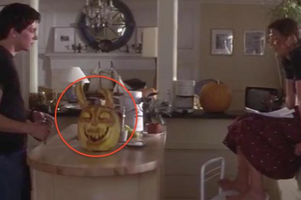 rabbit Frank pumpkin donnie darko jenna malone drew barrymore jake gyllenhaal 15th anniversary