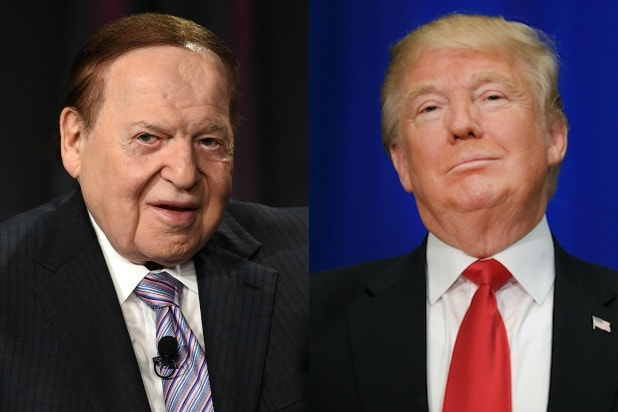 sheldon adelson donald trump