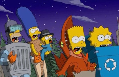Simpsons Christmas Boogie.The Simpsons To Re Air First Full Length Episode Sets New
