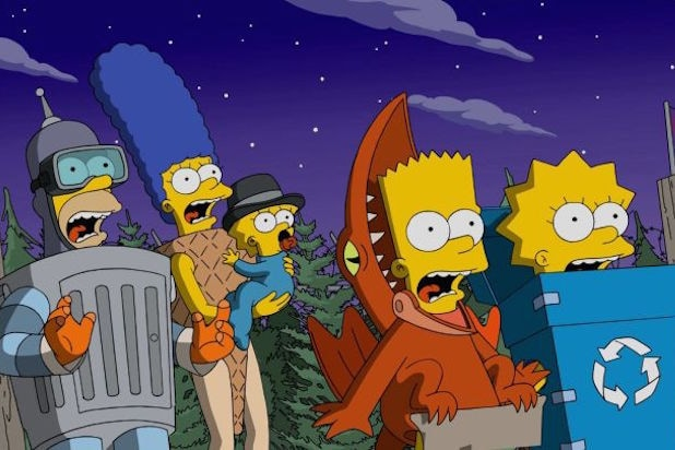 The Simpsons Treehouse of Horror Halloween 600 episode