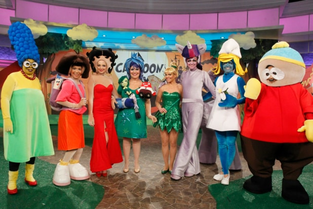 Halloween On Morning Tv Kelly Ripa As Trump Gma Does Suicide Squad Photos