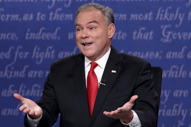 Tim Kaine Vice Presidential Debate Oct. 4, 2016