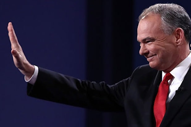 Tim Kaine Swings by LA for Post Debate Fundraiser