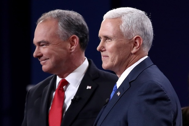 Mike Pence Tim Kaine Vice Presidential Debate Oct. 4, 2016