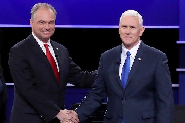 Mike Pence Tim Kaine Vice Presidential Debate Oct. 4, 2016