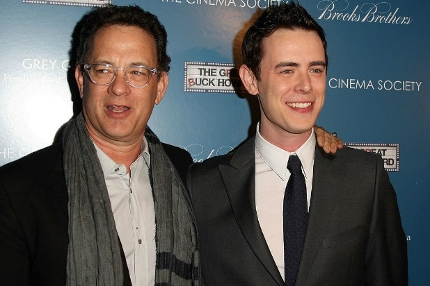 tom hanks colin hanks 2009