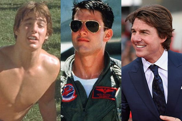 Tom Cruise Evolution