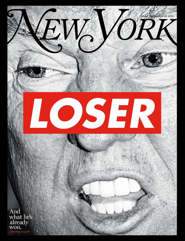 donald trump new york magazine election issue cover