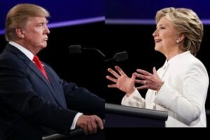 trump clinton face off Final Presidential Debate Between Hillary Clinton And Donald Trump Las Vegas