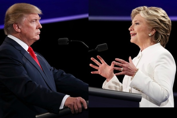 trump clinton face off Final Presidential Debate election day bigly