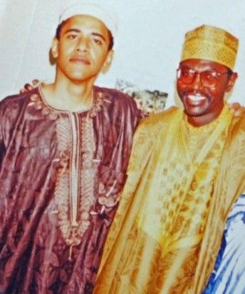 barack and malik obama