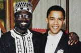 barack obama malik obama wedding photo
