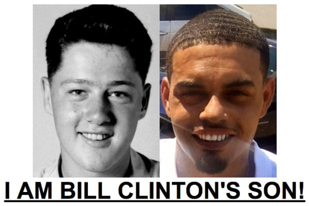 bill clinton son drudge Danney Williams Clinton