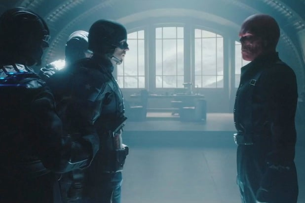 captain america and red skull marvel cinematic universe
