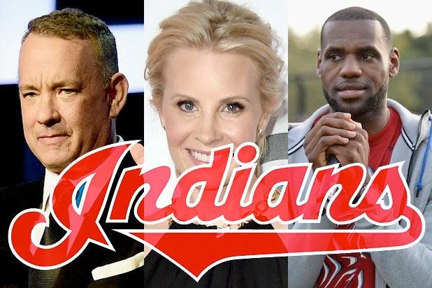 Cleveland Indians Celebrity Fans