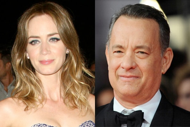 Emily Blunt Tom Hanks
