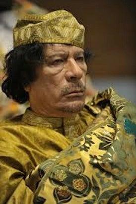 muammar gaddafi libya trump praise authoritarian dictator strongman