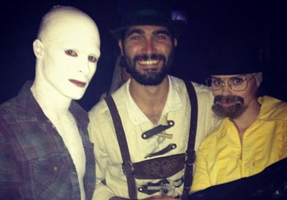 Colton Haynes Halloween