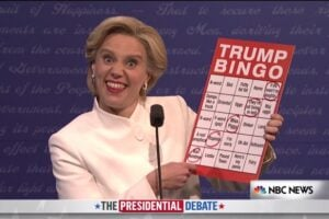 hillary clinton donald trump snl saturday night live third debate tom hanks